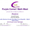 Purple Comet! Math Meet